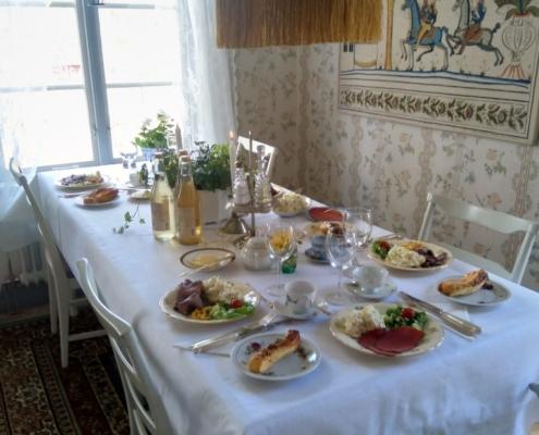 Lunch i Handlarens villa